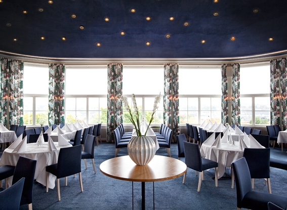 Solliden Restaurant, interior