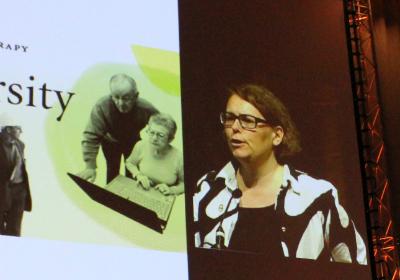 Anu Söderström, COTEC president